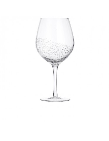 Red wine glass Bubble