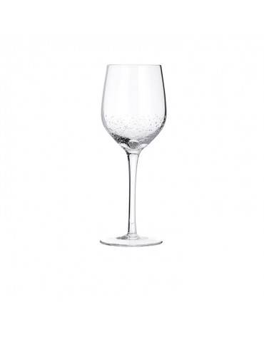 White wine glass Bubble