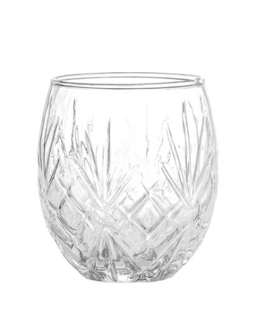 Mug in clear glass