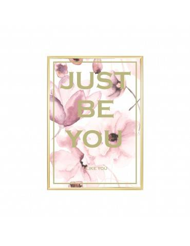 Livink Just be you plakat rosa