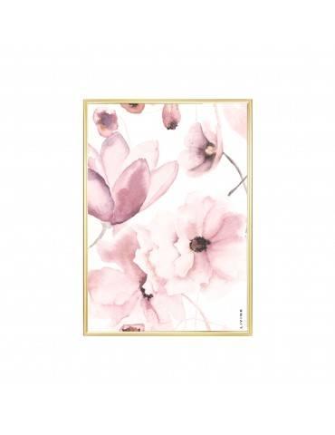 Livink Flower mix rose plakat