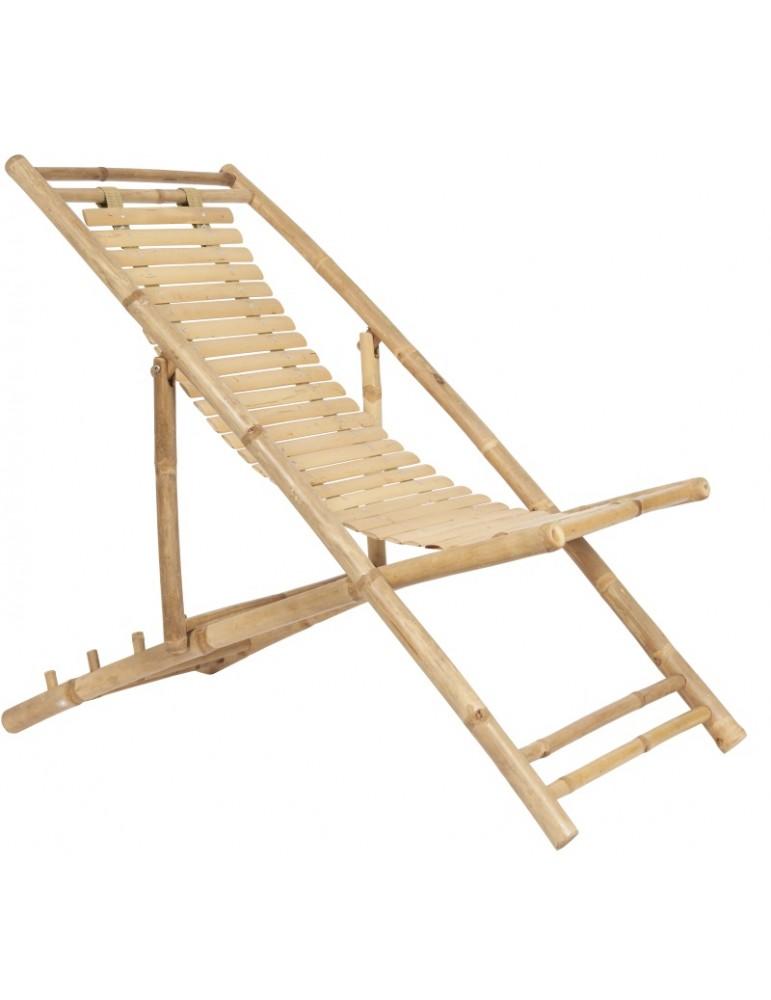 Seriøst Ib Laursen solstol bambus OS64