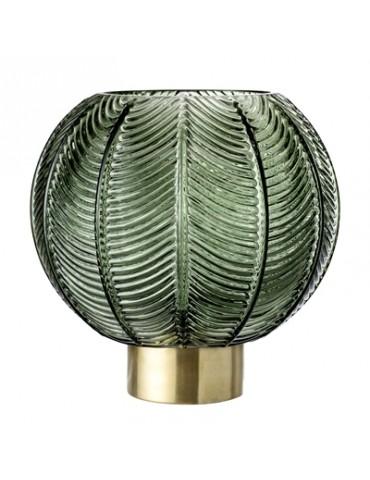 Bloomingville grøn glasvase