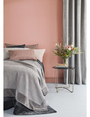Cozy Living sengetæppe waffle mud miljø