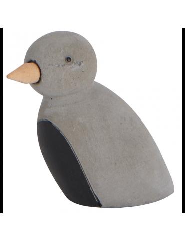 Ib Laursen fugl i beton med...