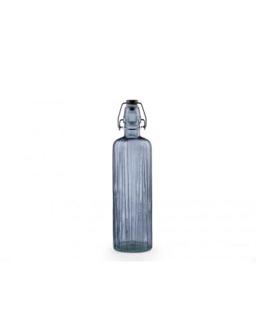 Christian bitz kusintha vandflaske blå lille