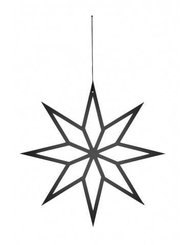 Nordal sort hængende stjerne