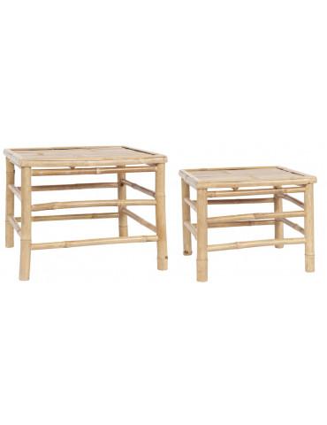 Ib Laursen sidebord bambus sæt med 2