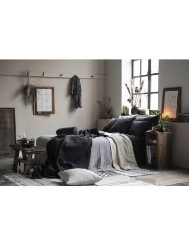 Ib Laursen sengetæppe dobbelt ribbet miljø