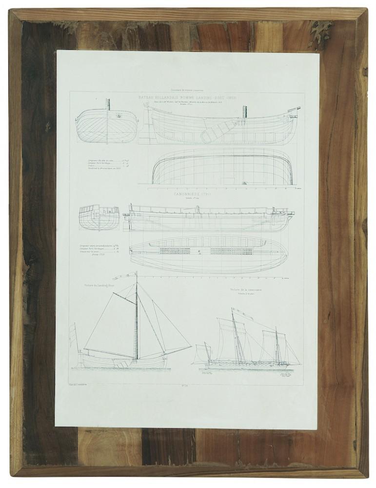 Ib Laursen billed med skibsmotiv 2 unika
