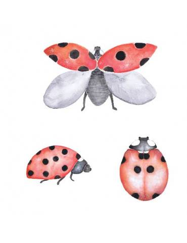 Thats mine wallsticker ladybird pakke