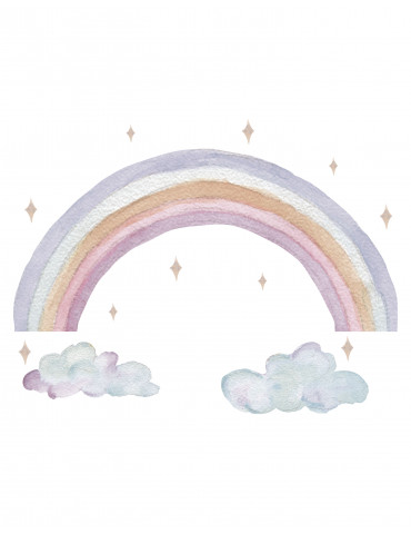 Thats mine wallsticker rainbow