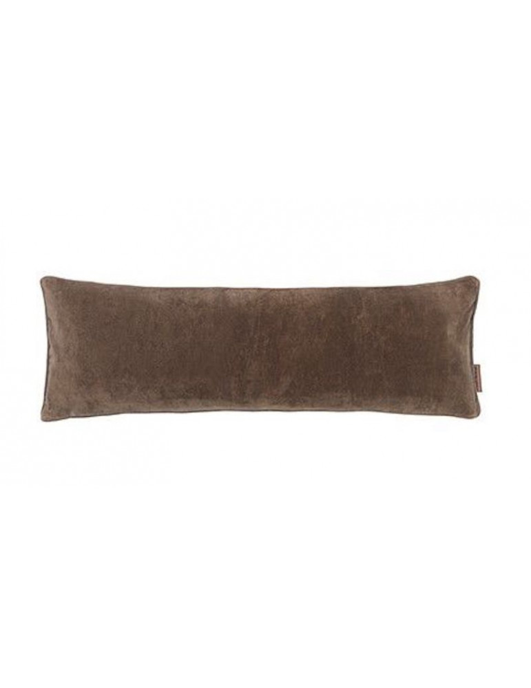 Cozy Living velour pude lang taupe