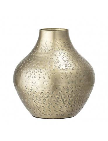 Bloomingville vase messing oval