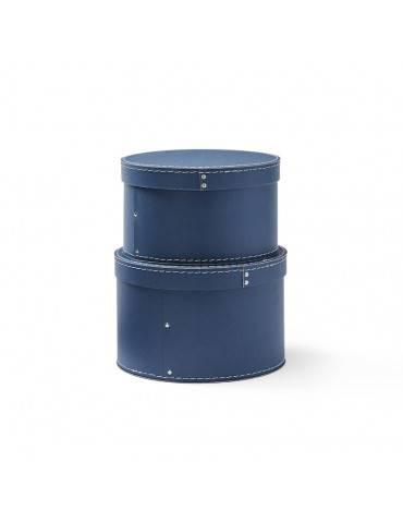 Kids Concept opbevaringsboxe mørkeblå