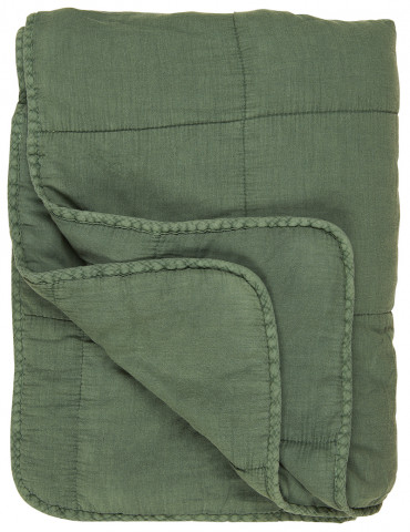 Ib Laursen quilt og sengetæppe grøn