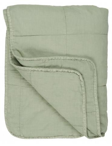 Ib Laursen quilt og sengetæppe lysegrøn