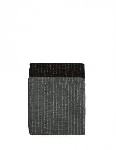 Madam Stoltz viskestykker sort og grå 2 pak