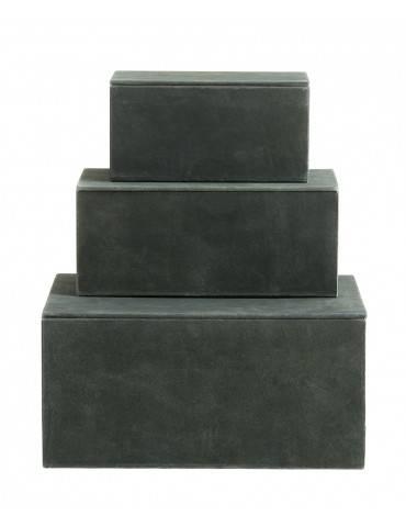 Nordal Box sæt med 3 flaskegrøn