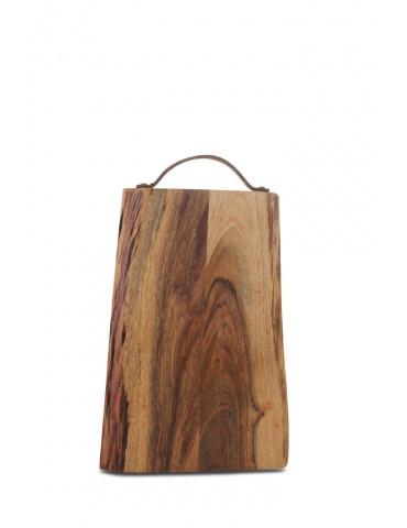 Stuff design skærebræt med læderhank lille
