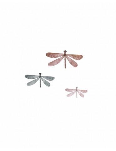 Thats Mine Wallsticker Dragonflies 3 farver