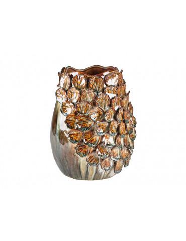 Villa Collection vase valencia major Brown