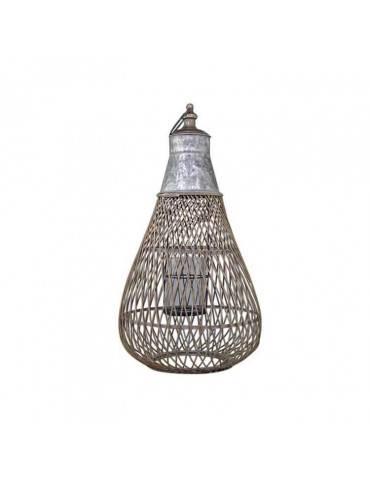 Chic Antique franks lanterne med zinktop