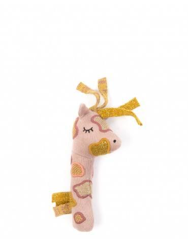Smallstuff Håndrangle giraf guld