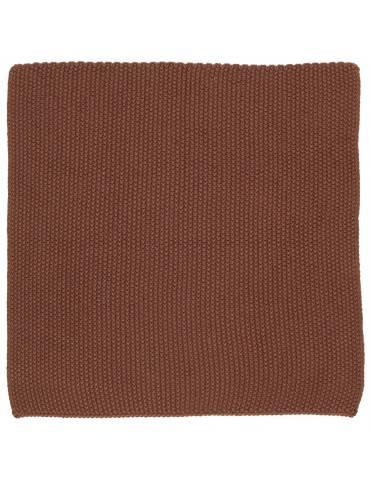 Ib Laursen Mynte karklud rustic brown strikket