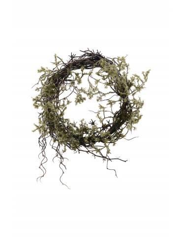 House Doctor Krans Wild Moss natur