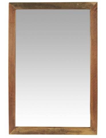 Ib Laursen spejl i træramme Unika