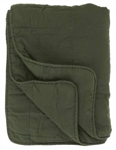 Ib Laursen Vintage quilt forrest green