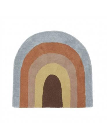 OYOY Living Design Regnbue gulvtæppe