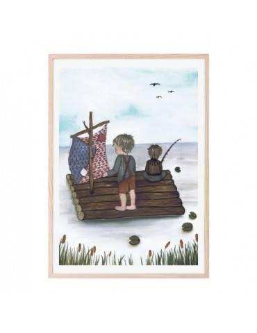 Thats Mine Plakat Raft fishing