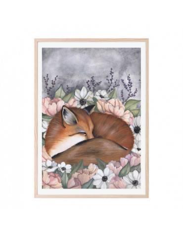 Thats Mine Plakat Flower field fox