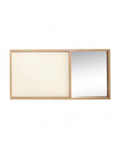 Hübsch Opslagstavle med spejl