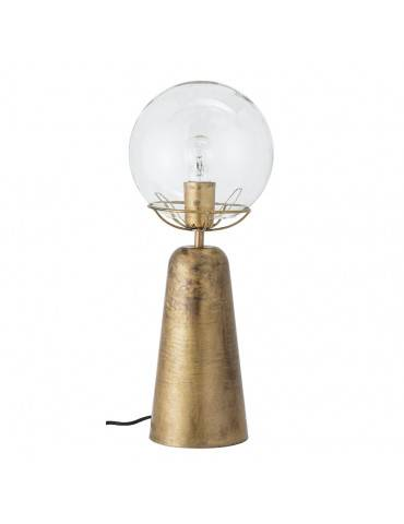 Bloomingville bordlampe messing