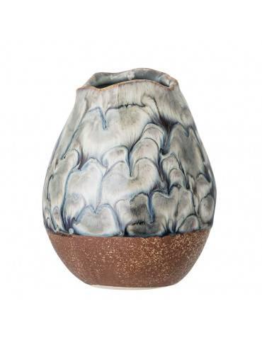 Bloomingville Vase multifarvet stentøj lille
