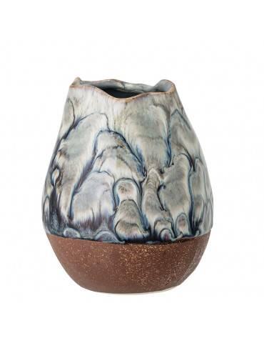 Bloomingville Vase multifarvet stentøj lille anden side