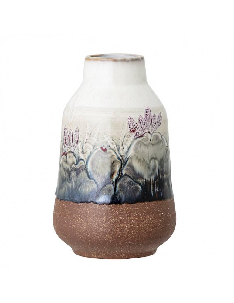 Bloomingville Vase multifarvet stentøj stor