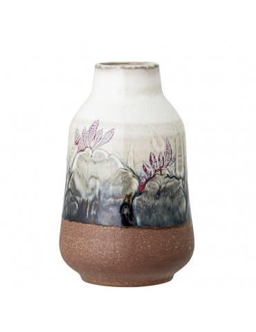 Bloomingville Vase multifarvet stentøj stor anden side