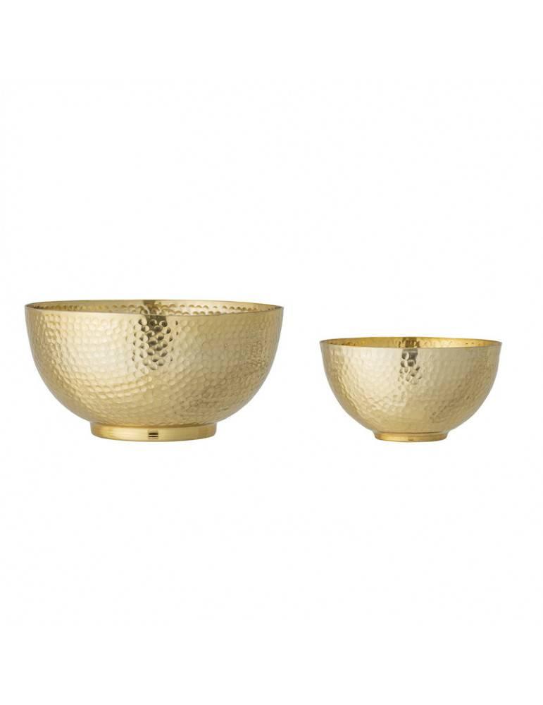 Bloomingville Skålesæt guld