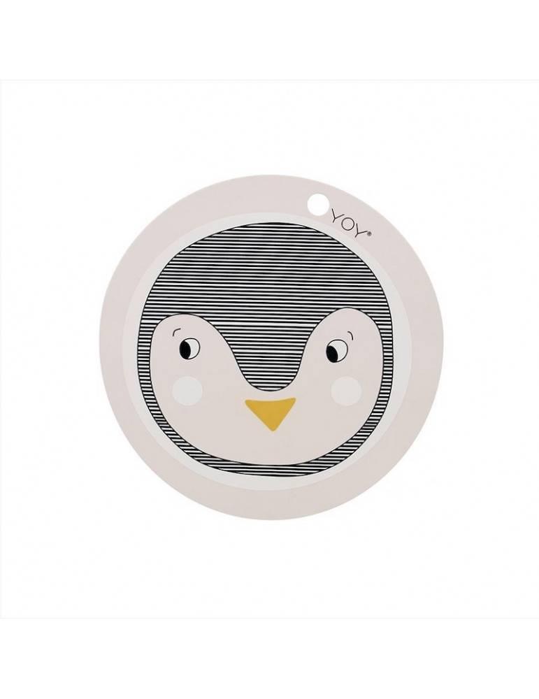 OYOY Living Design Dækkeserviet Pingvin