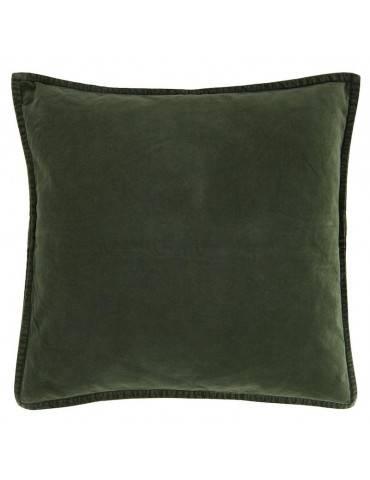 Ib Laursen Pudebetræk velour Forrest green