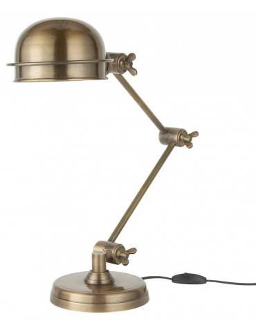 Ib Laursen Bordlampe metal rund skærm