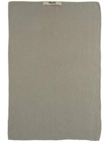 Ib Laursen Mynte håndklæde Sand strikket