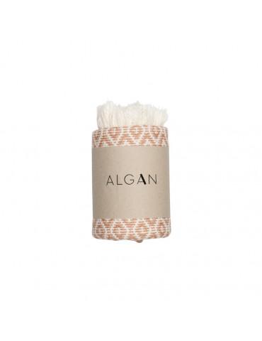 Algan Sumak gæstehåndklæde Melon