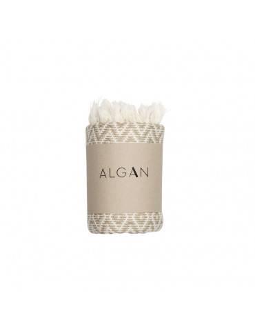 Algan Sumak gæstehåndklæde hummus