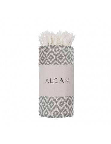 Algan Sumak gæstehåndklæde Grå