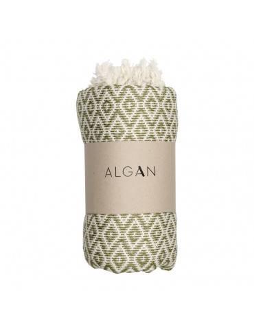 Algan Sumak badehåndklæde Oliven